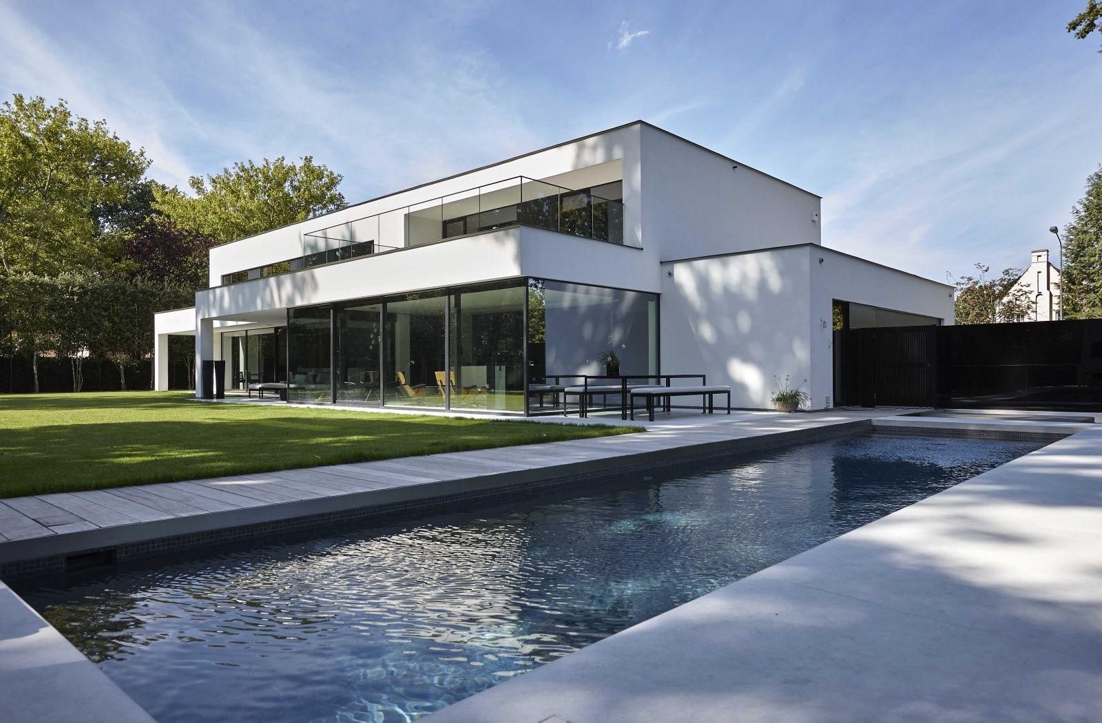 Dumobil villabouw woonprojecten architecture for Minimalistisches haus grundriss