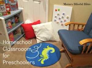 Photo of Our Homeschool Preschool Classroom