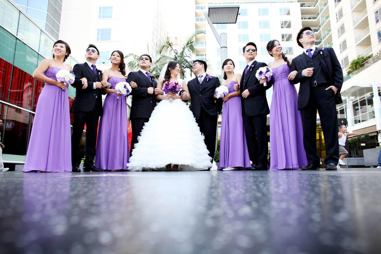 Pareja de novios con las damas de honor y sus parejas. 71 | Ideas de ...