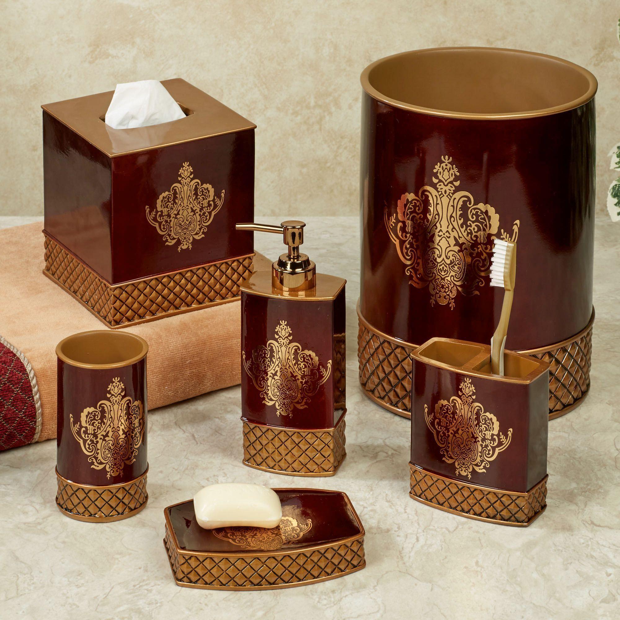 Lenox Blue Floral Garden Porcelain Bath Accessories | Bath Accessories,  Floral And Bath