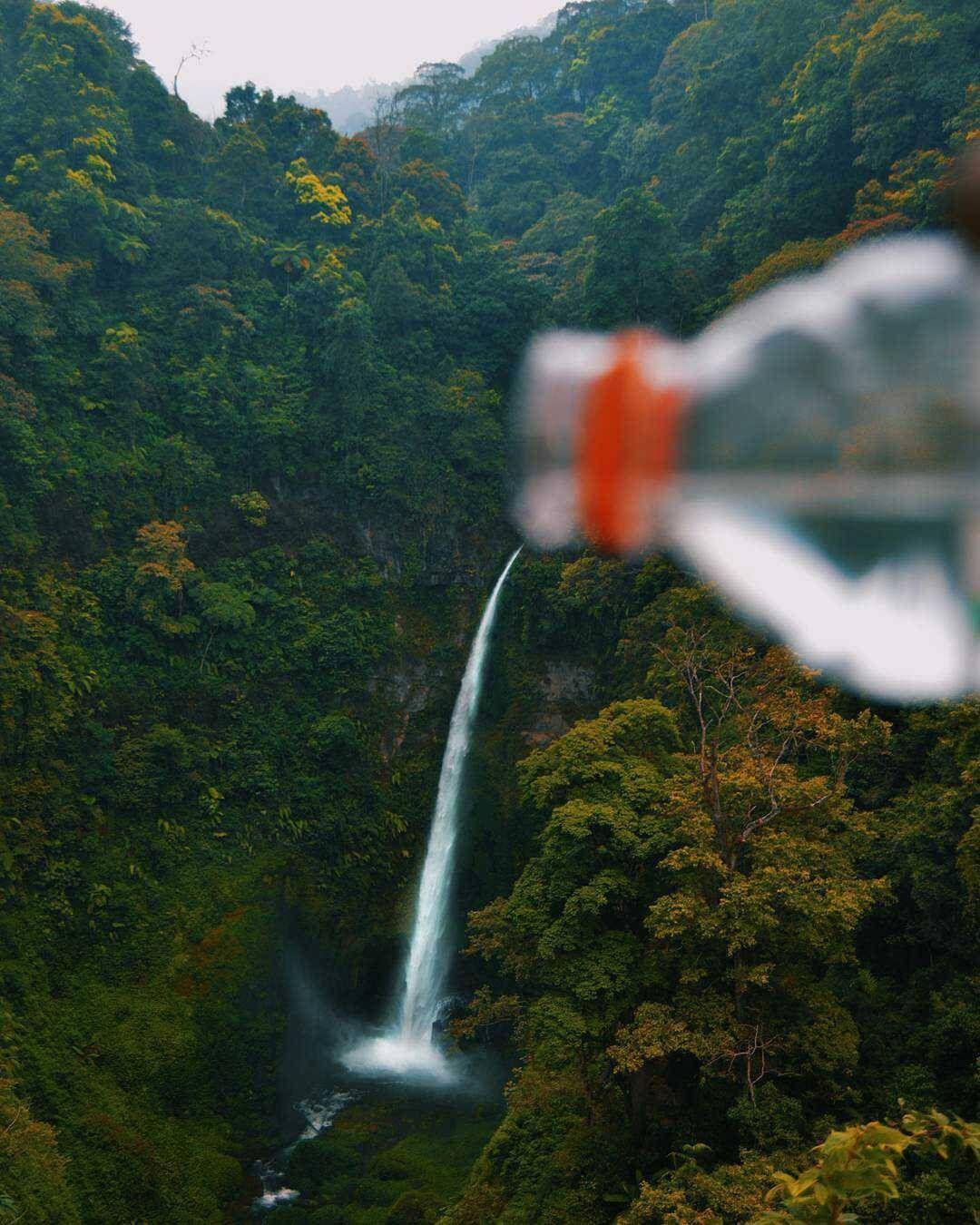 COBAN PELANGI | Air terjun, Pelangi, dan Air