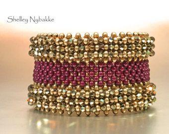 Heart Bead Again Bracelet Cuff pdf por SturdyGirlDesigns en Etsy