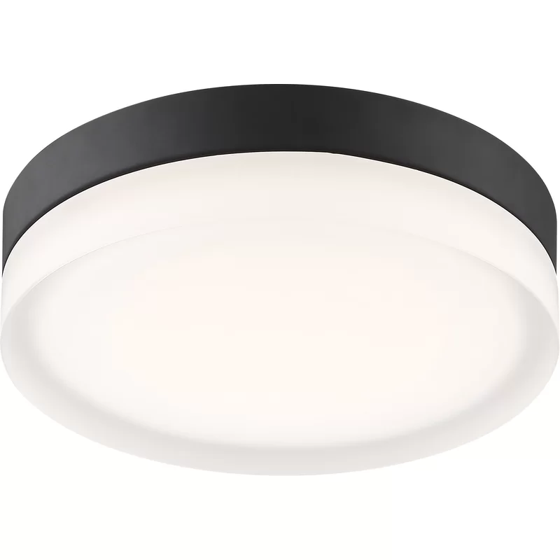 Pavillion 1 Light Simple Drum Led Flush Mount In 2020 Led Flush Mount Modern Flush Mount Lighting Flush Mount Ceiling Lights