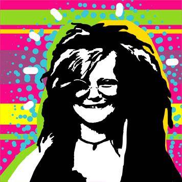 Janis Joplin Janis Joplin Art Halloween Art