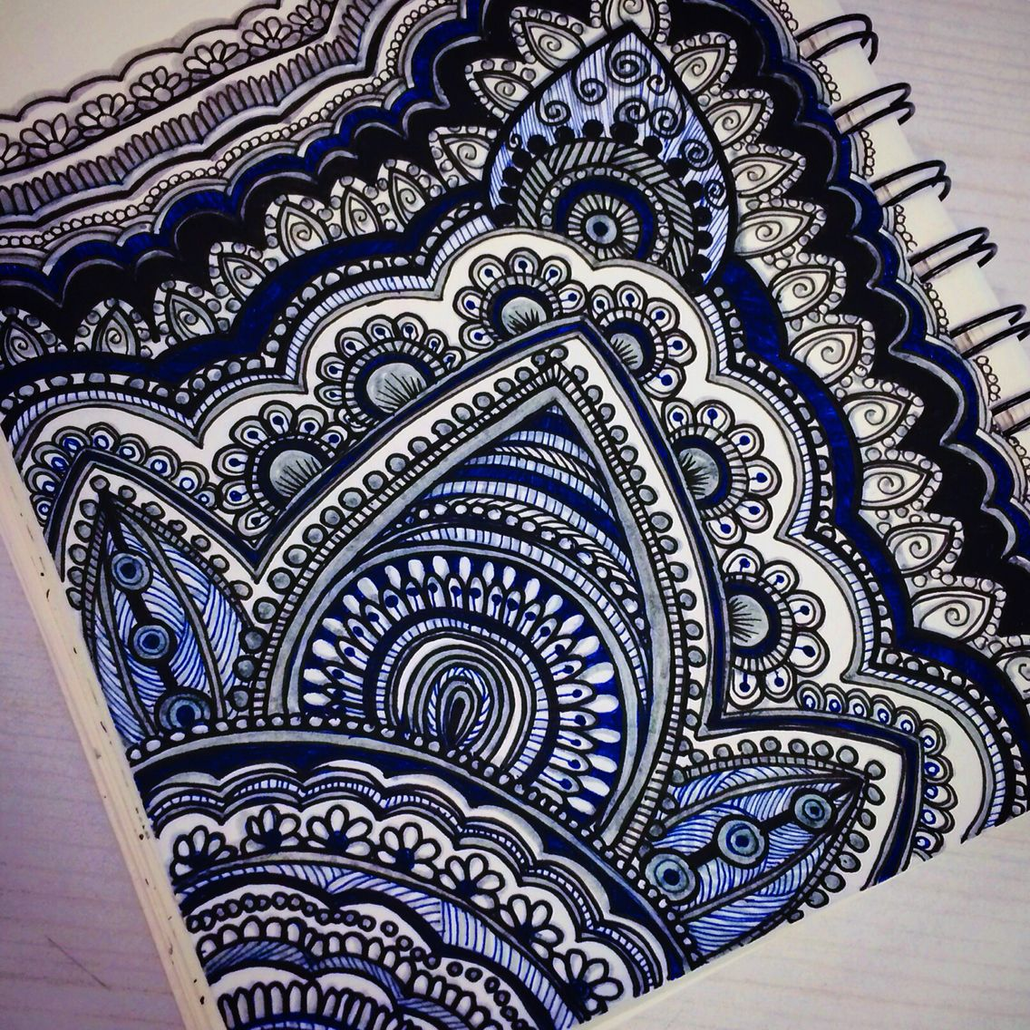 Mandala X Henna On Paper Henna Drawings Henna Designs Paper