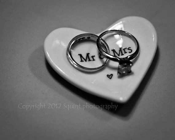 Black And White Wedding Rings Photo By Squint Photography #etsy #wedding