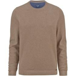 Photo of Olymp Strickpullover, moderne Passform, Taupe, Xl Olympymp