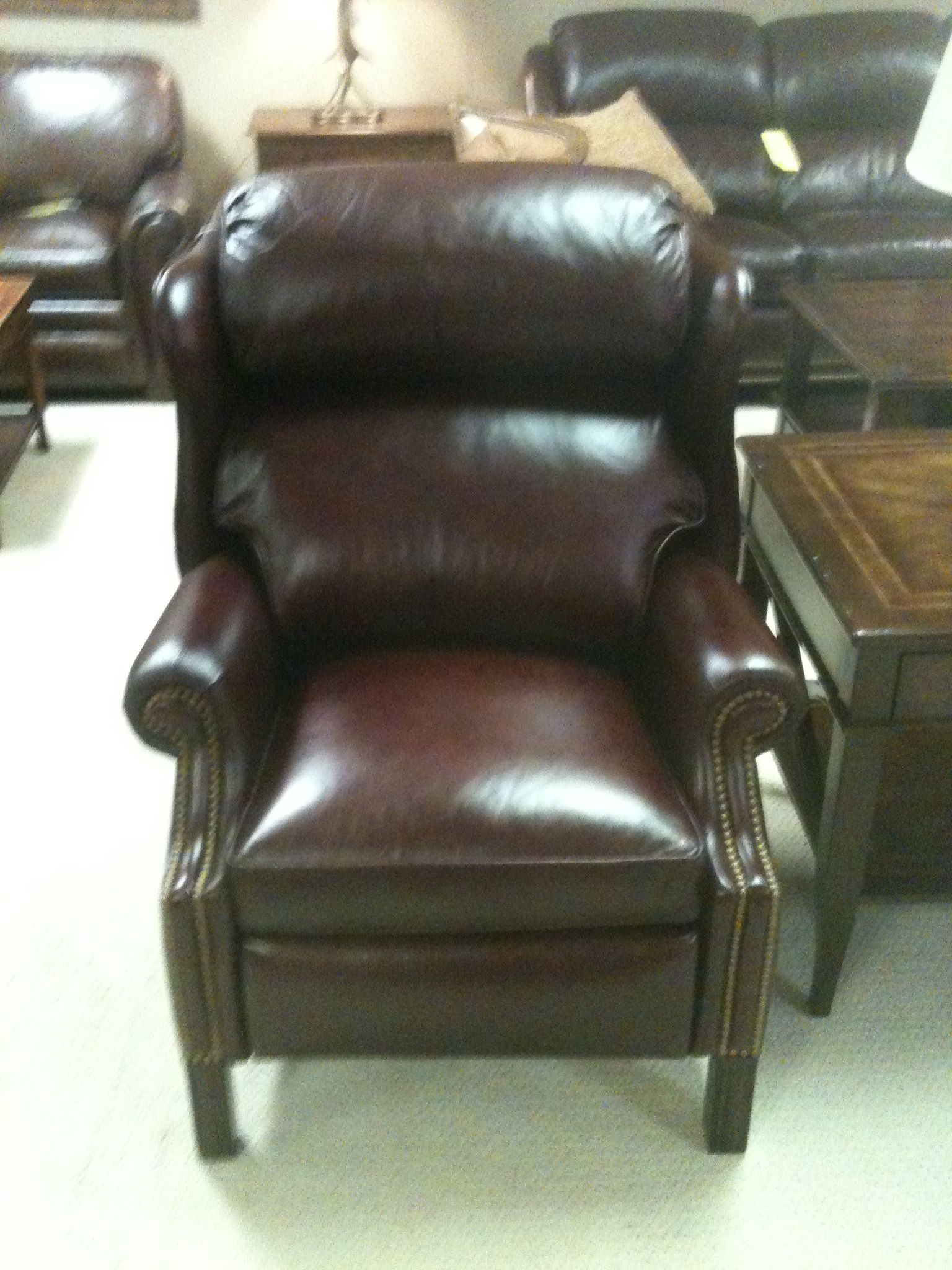 Great recliner because it doesn't look like one