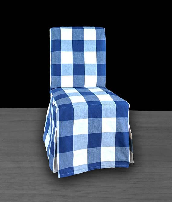 Sensational Buffalo Check Navy Blue Ikea Henriksdal Dining Chair Cover Gmtry Best Dining Table And Chair Ideas Images Gmtryco