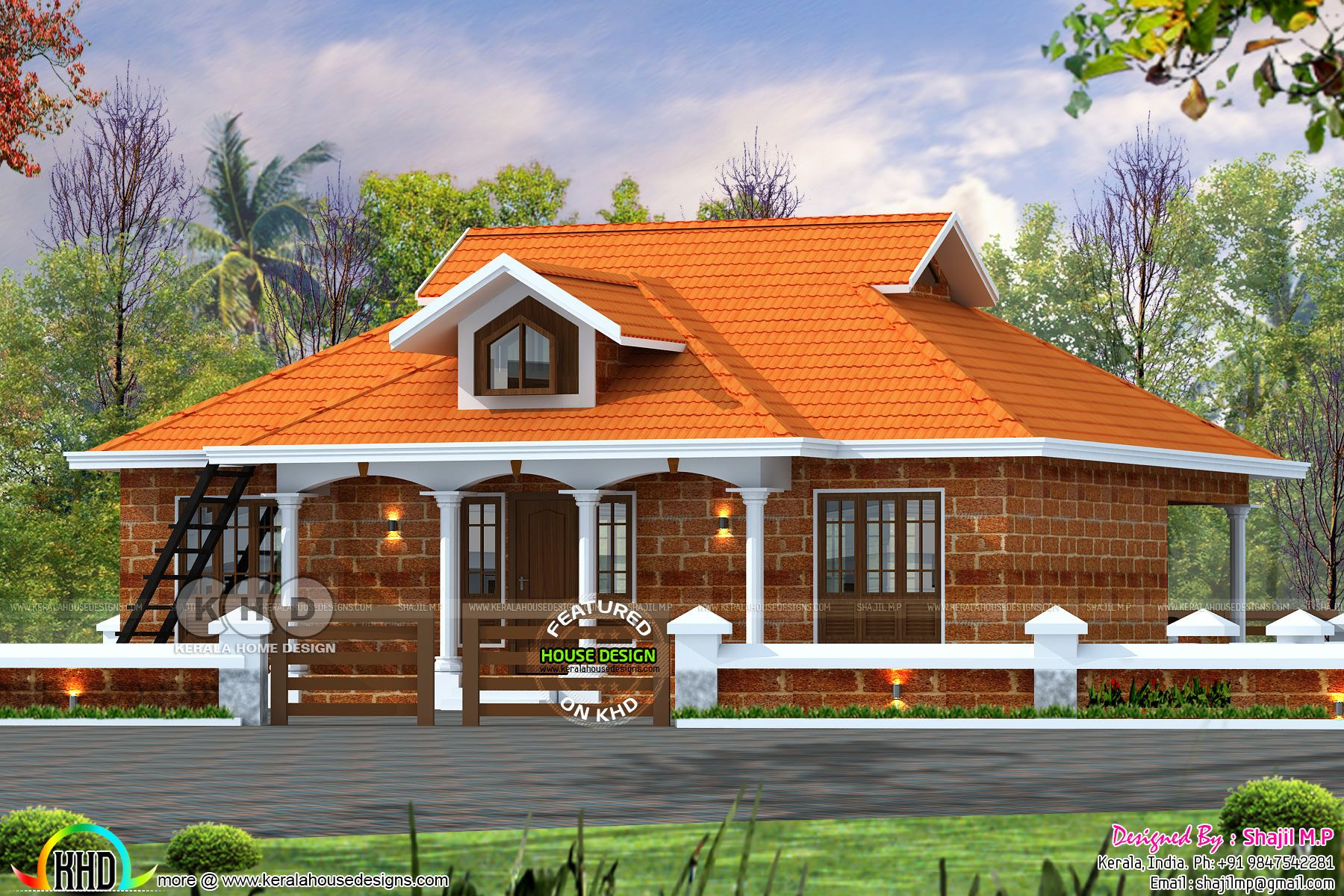 1200 Square feet 3 bedroom house architecture plan in 2020 ...