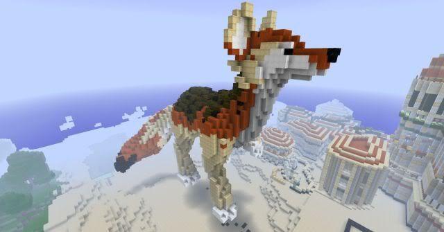 Minecraft Dragon Head Blueprints Dragon