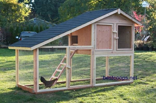 Portable Chicken Coop Plans For 6 Chickens Chicken Coop Design