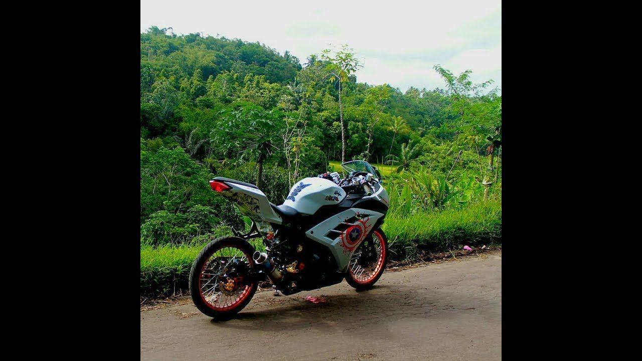 Modifikasi Motor Ninja 4 Tak Ban Kecil Ninja Motor Motor Sport