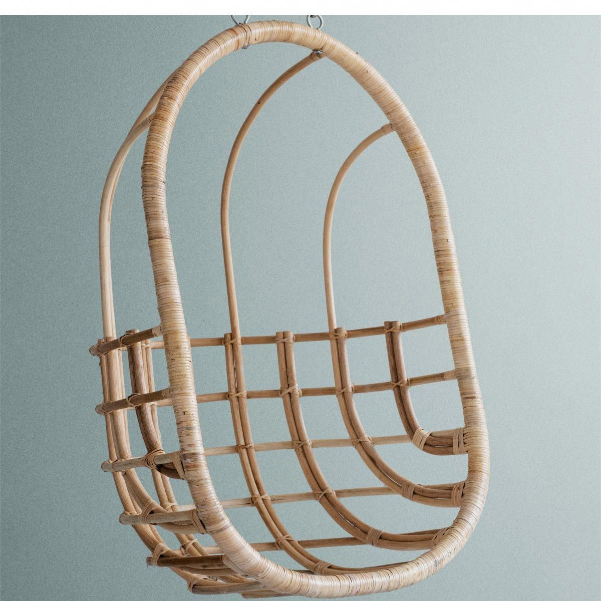 Egg Chairs That Hang From The Ceiling Hanging Chair From Ceiling Egg Chairs In 2019 Rattan Egg Chair