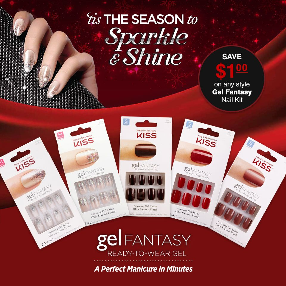 Get a perfect mani in minutes this holiday! Find your Gel Fantasy ...