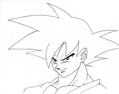 Dessin Dragon Ball Z Facile