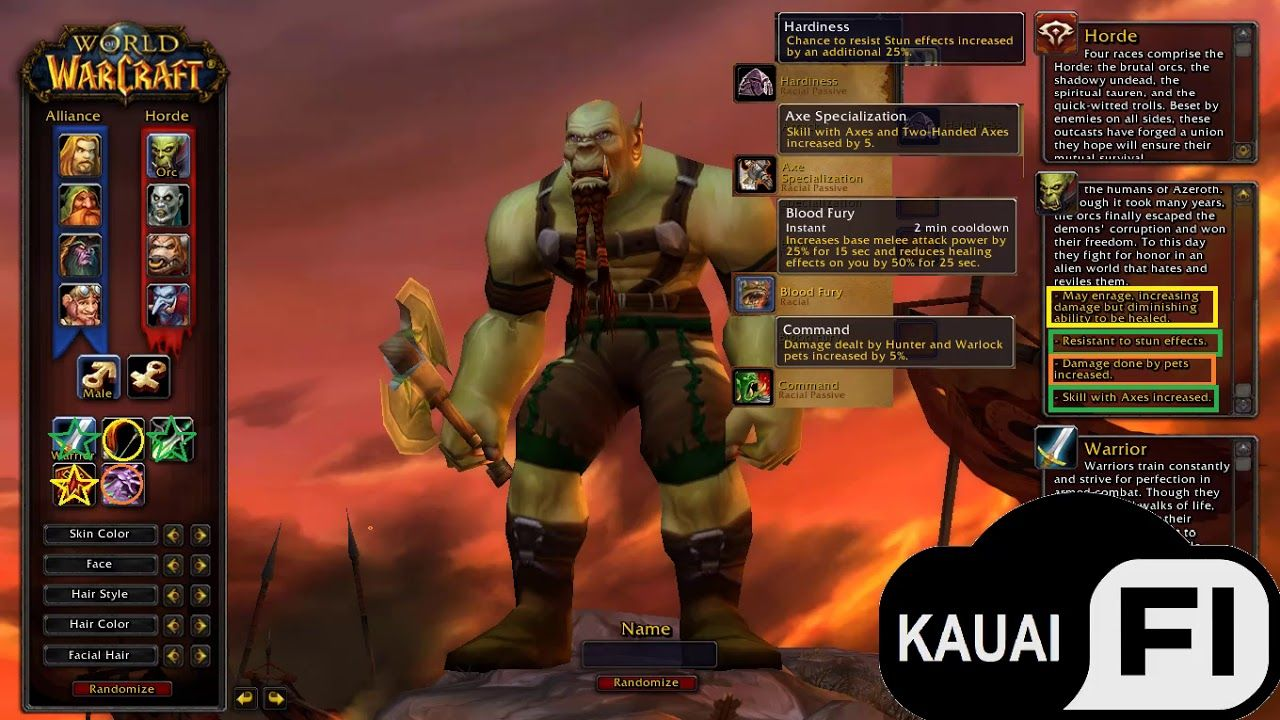 Qual A Melhor Classe Para Orcs Wow Classico World Of Warcraft Warcraft Video Game News