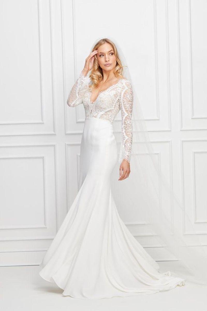Wtoo Wedding Dress Bradley Wtoo Wedding Dress Watters Wedding Dress Wedding Dress Long Sleeve