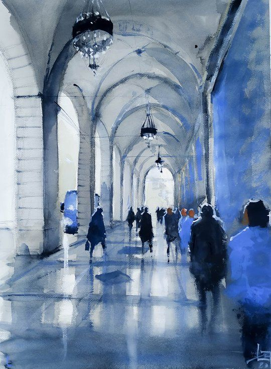 Buy Gente in galleria, Watercolour by Flavio Furlan on Artfinder. Discover thousands of other original paintings, prints, sculptures and photography from independent artists.