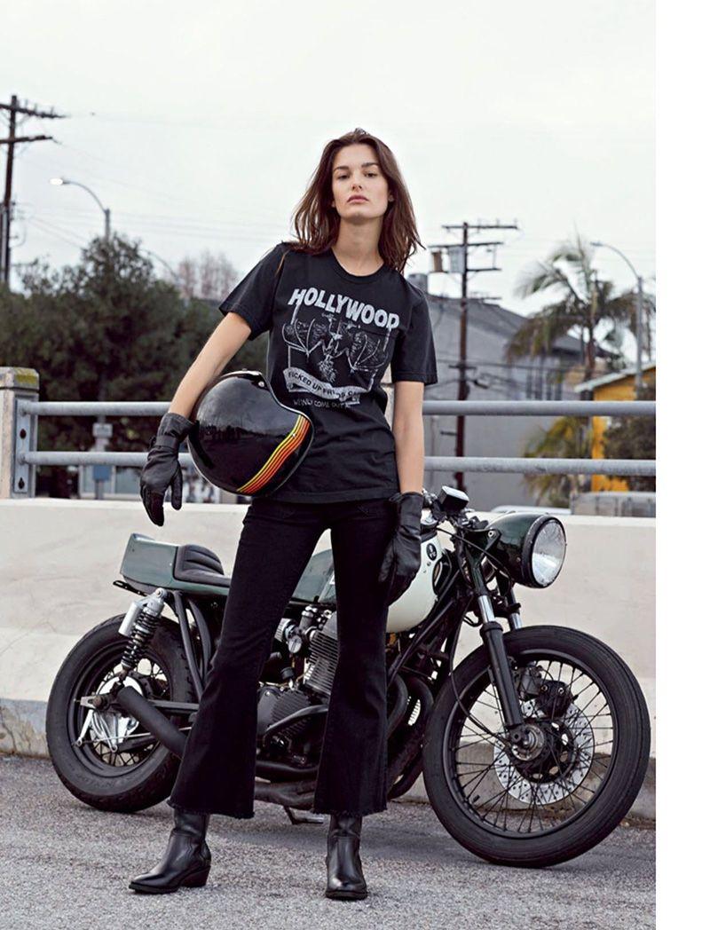 Hot biker Foxy Salt 65
