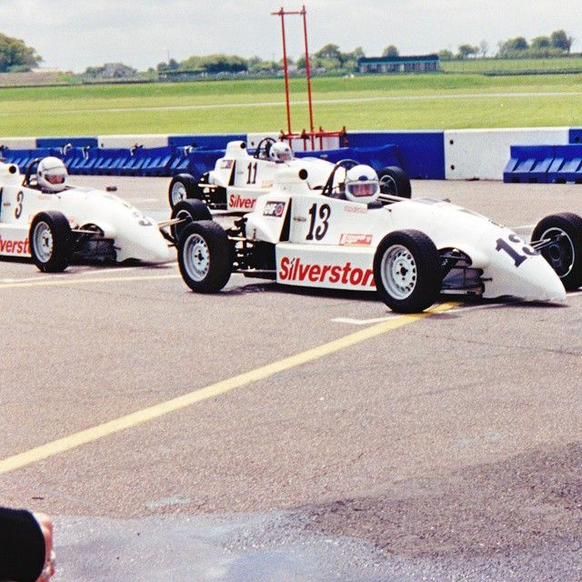 I'm in car number 13 so I guess it's a good job I'm not superstitious. Racing at Silverstone in about 1999.
