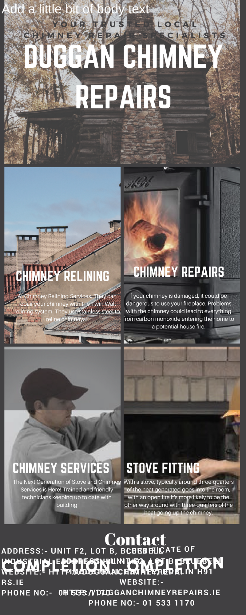 Find The Stove Fitting And Best Chimney Repair Chimney Relining