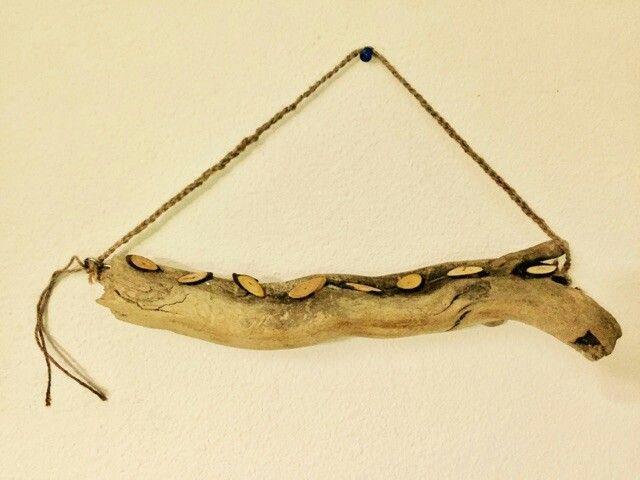 Porte bijoux bois flotté | Deco bois | Pinterest