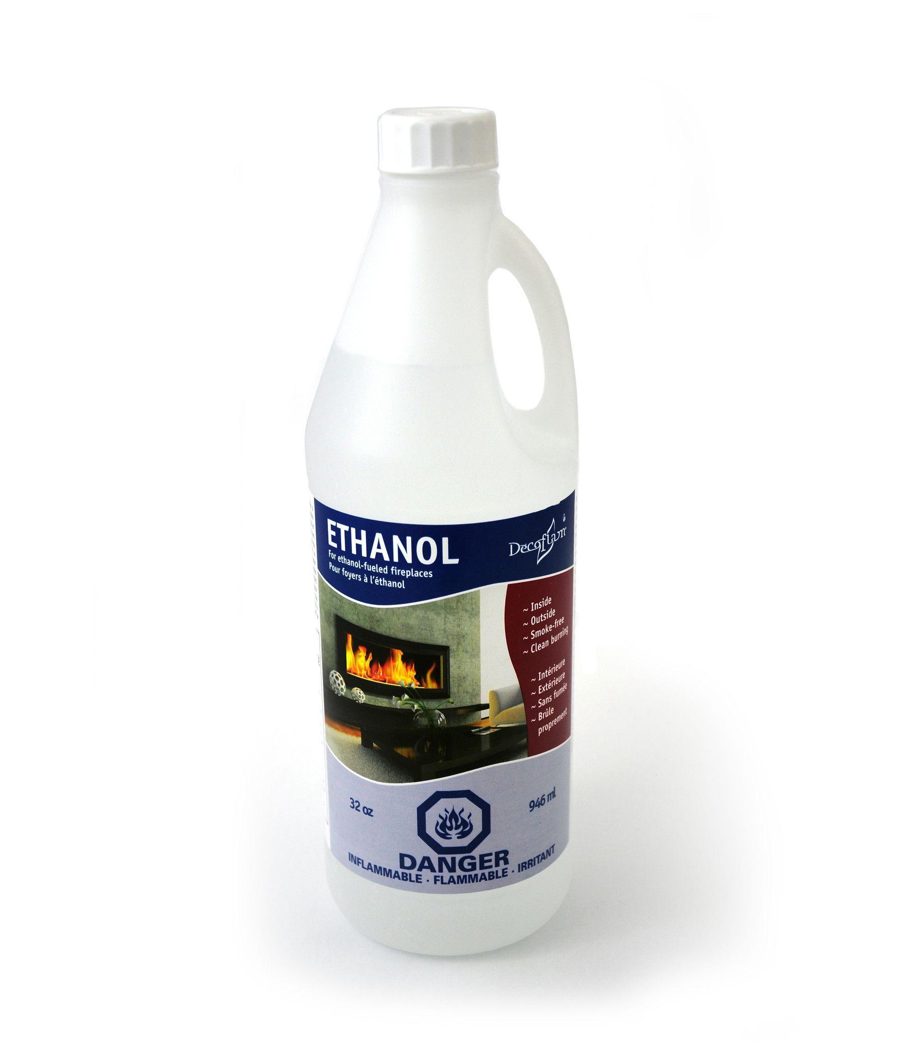 Liquid Ethanol (32oz Refill Bottle)