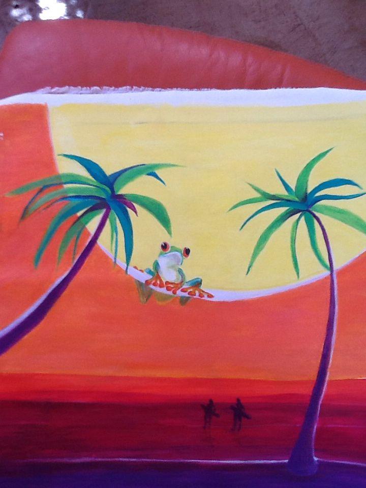 Coucher de soleil by anapalom