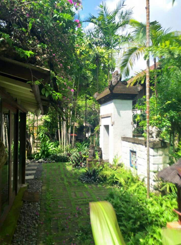 Made Wijaya's beautiful garden at Villa Bebek. | Balinese ...