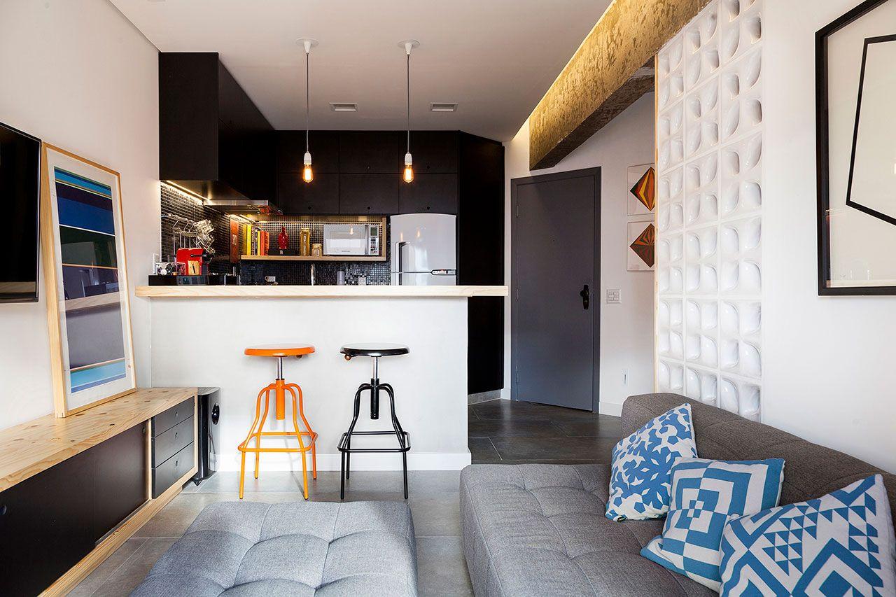 Loft em São Paulo projetado por Marcelo Moura da Tripper Arquitetura