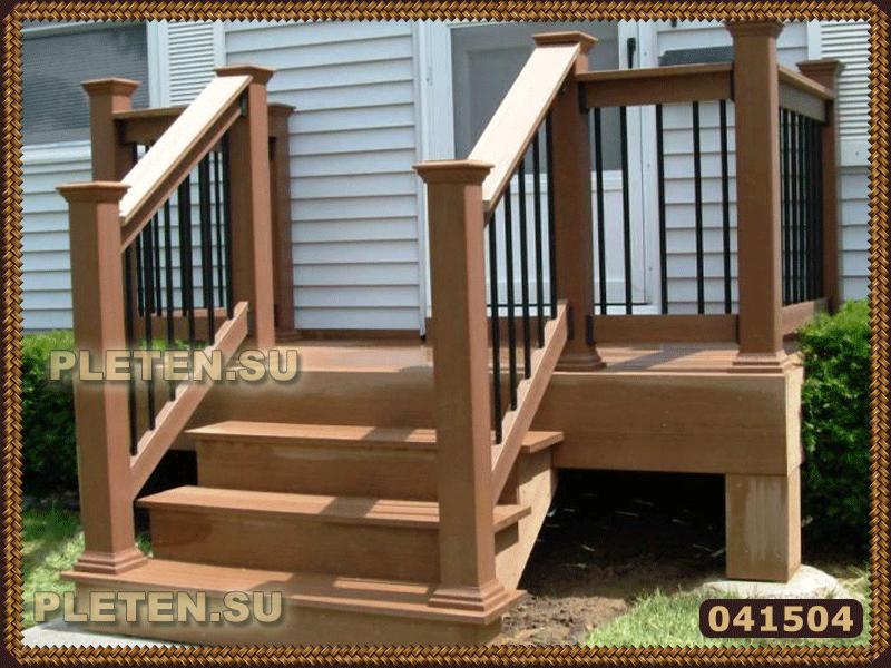 Outdoors · Крыльцо небольших размеров. Porch StepsModular HomesMobile ...