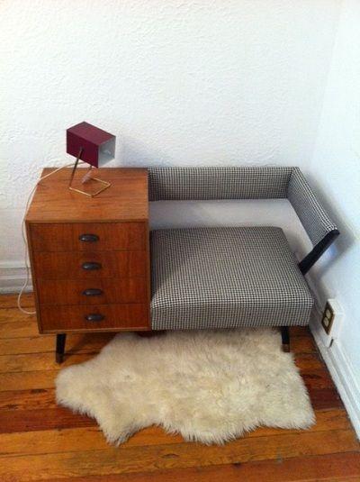 Sofa decada muebles vintage mid century modern danish furniture www seating - Sillones antiguos restaurados ...