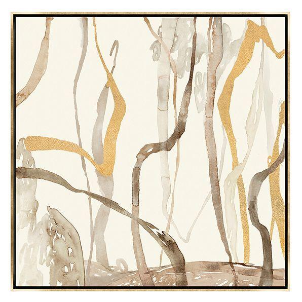 Tree Vines of Gold | Arte abstracto, Abstracto y Cuadro