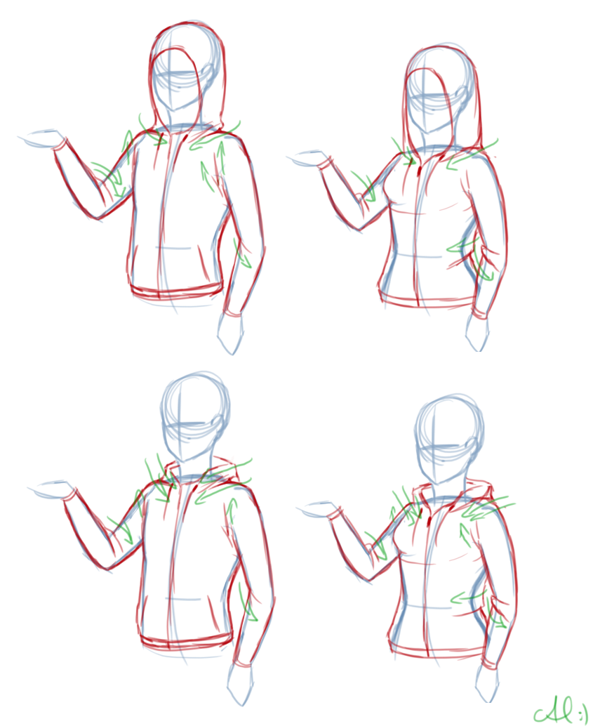 Hoodies Via Poetofbloodandtime On Tumblr Drawing Clothes How To Draw Hoodies Drawing Tutorial