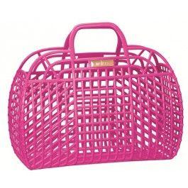 Melisa Refraction hangbag in Pink Gloss