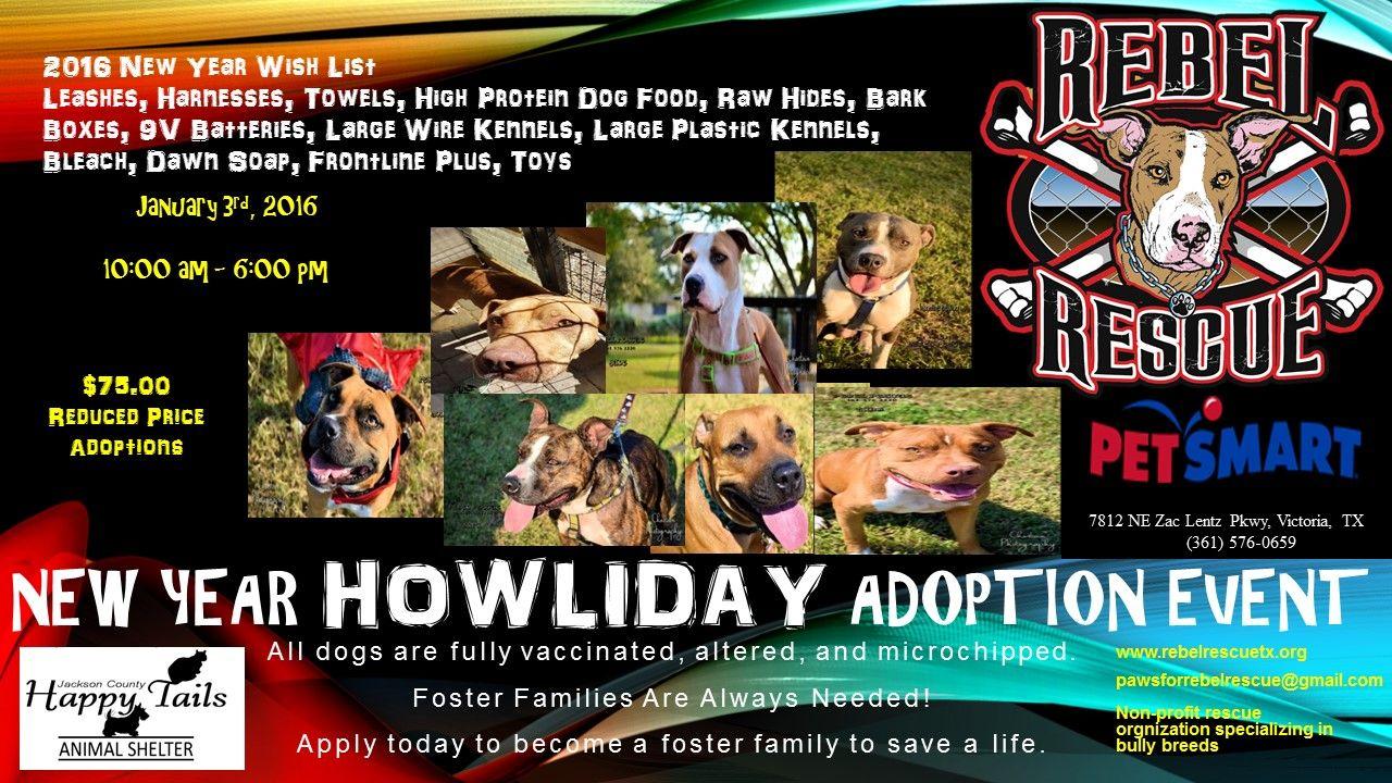 New Year Howliday Adoption Event at Victoria PetSmart