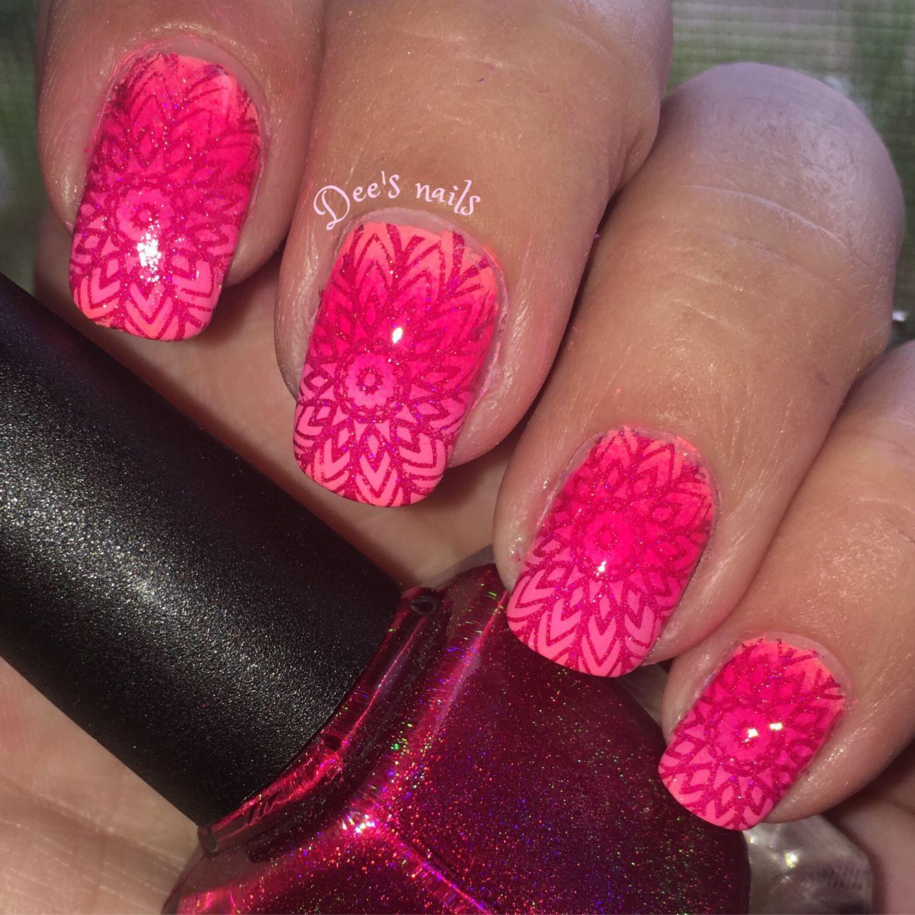 Stamped nails using CBL hey Romeo