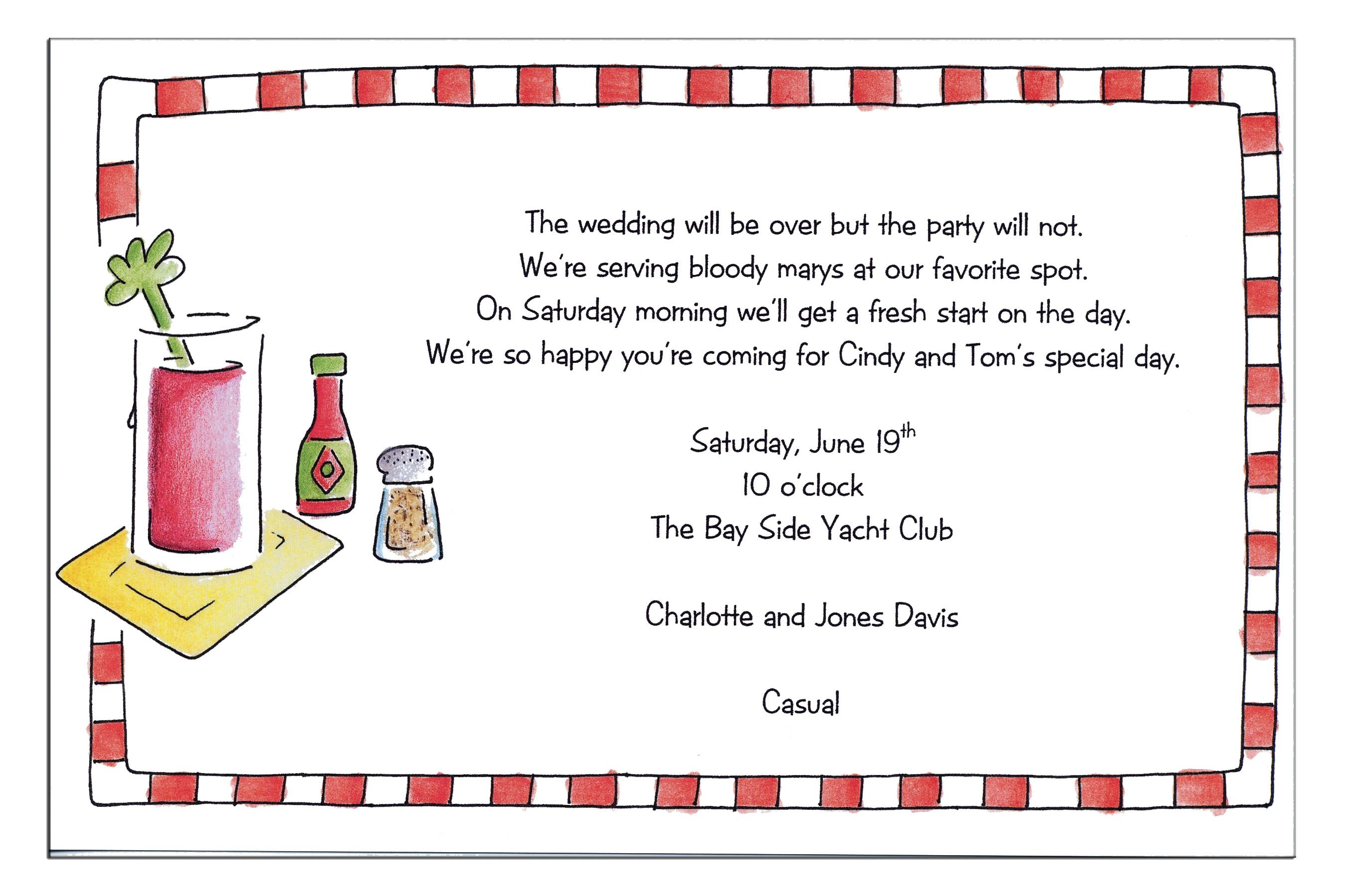 Luncheon Invitation Ideas Click to preview sample text