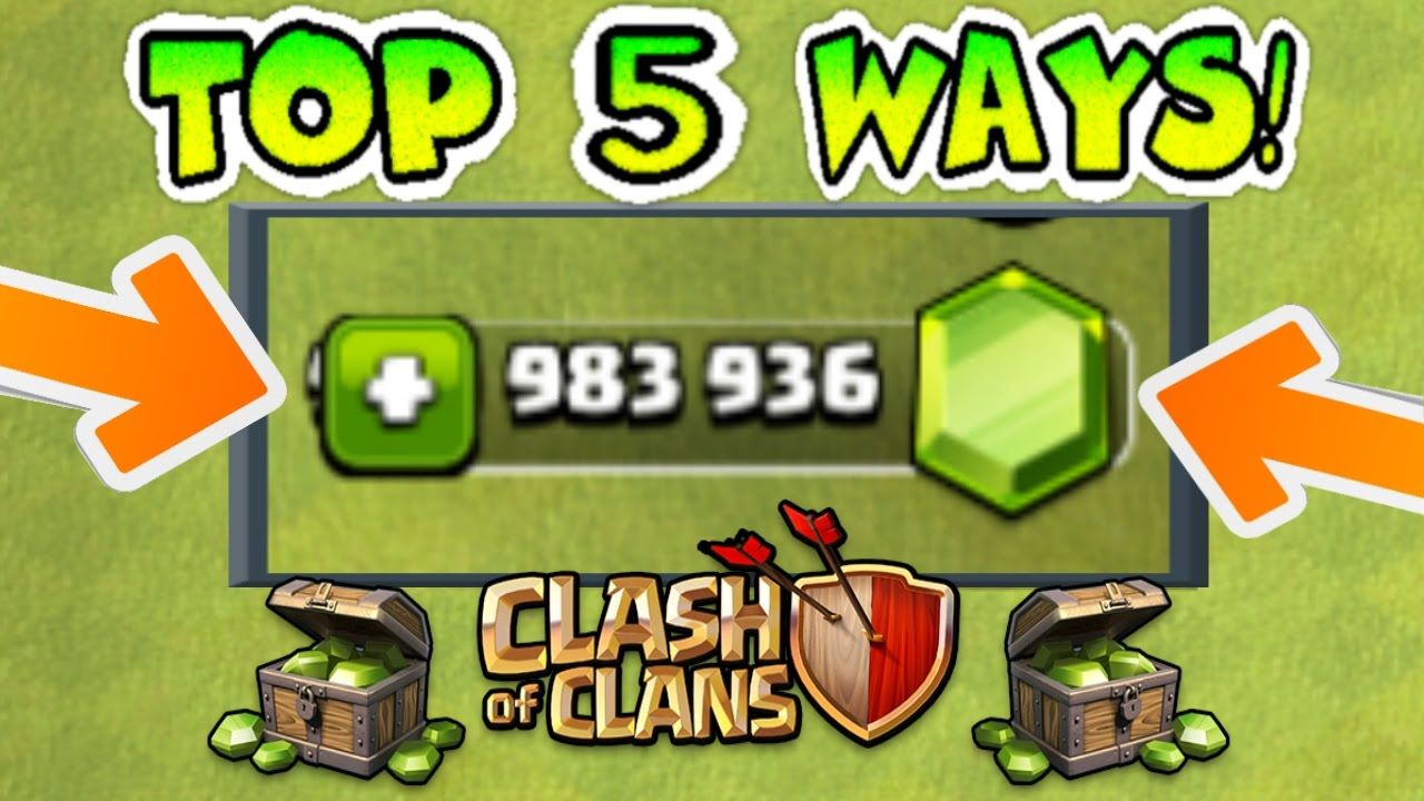 How To Easily Get Free Gems In Clash Of Clans