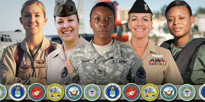 All women, ALL soldiers.