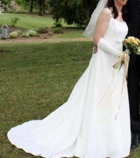 Hochwertiges Brautkleid - Hochzeitskleid in 36/38 in Rheinland-Pfalz - Morbach | eBay Kleinanzeigen