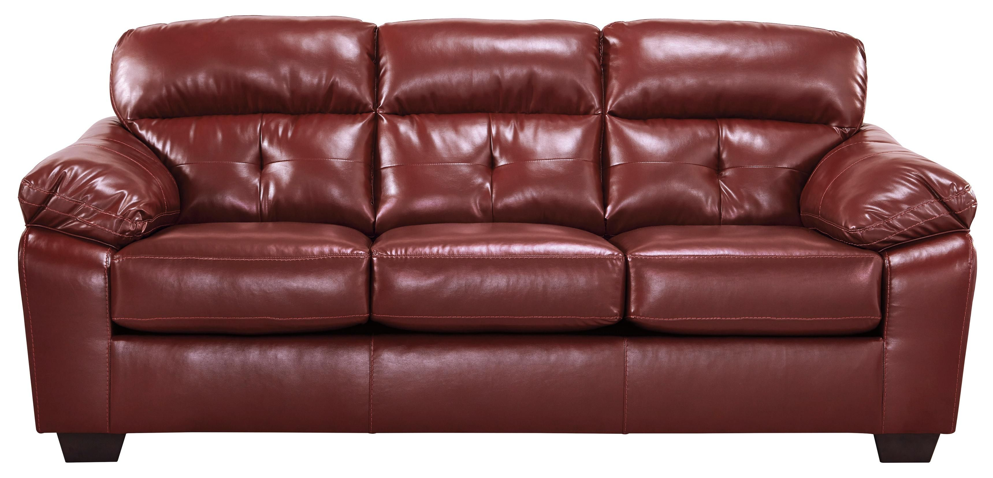 Best Bastrop Durablend Crimson Sofa By Benchcraft Reception 400 x 300