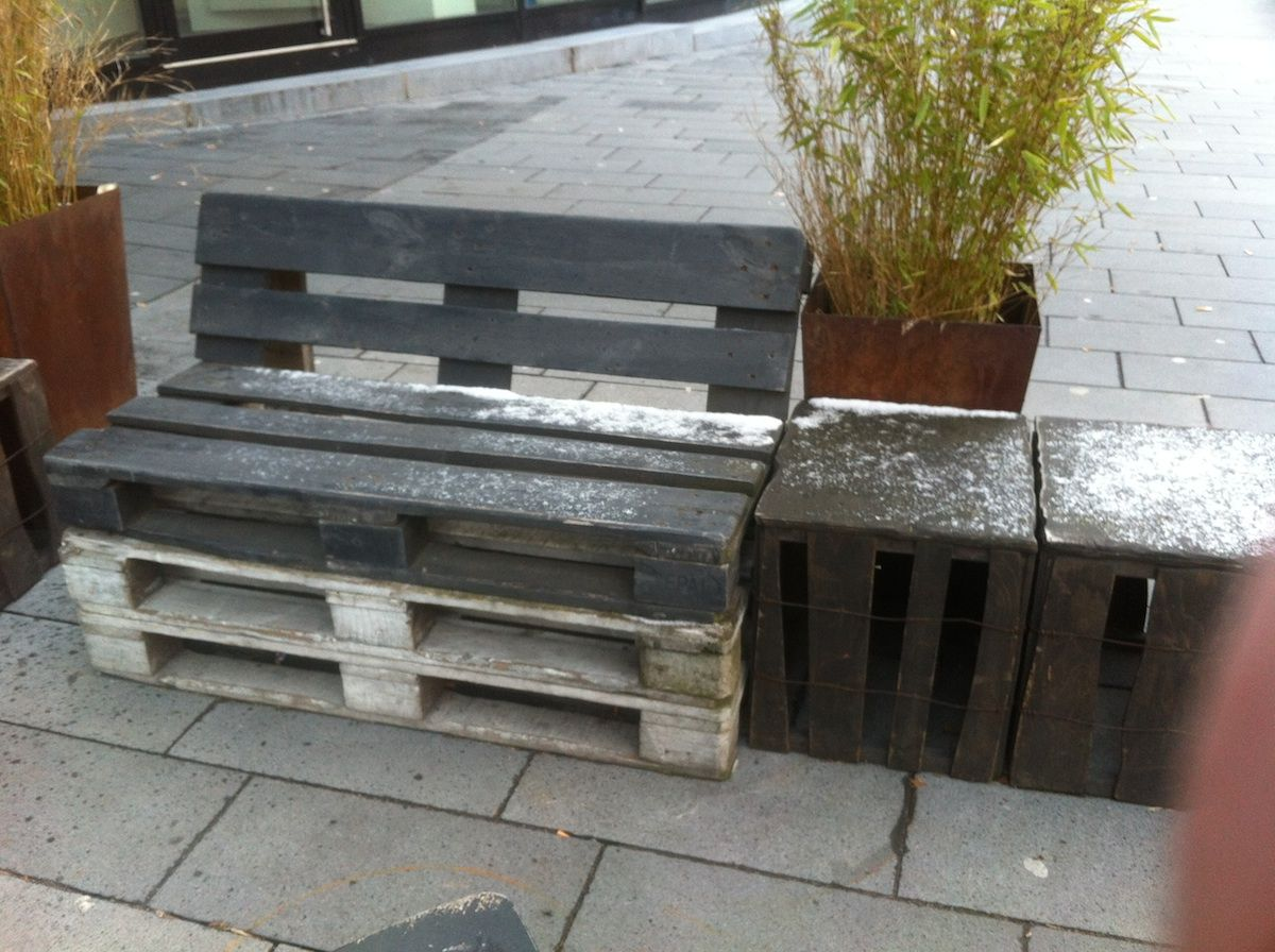 How To Build A Garden Chair With Pallets: Easy And Cheap ...