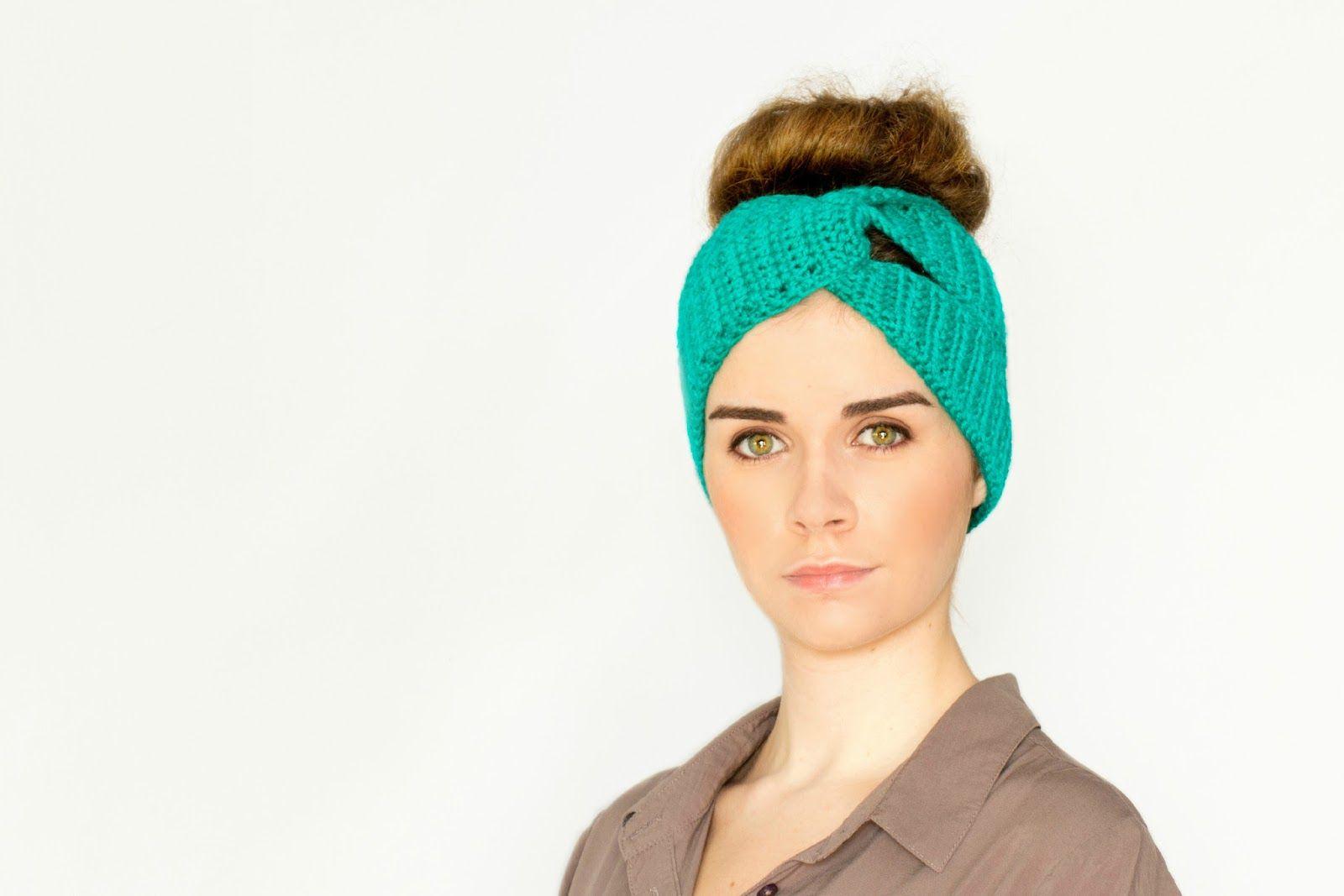 Twisted Turban Headband Crochet Pattern | Hopeful honey, Headband ...