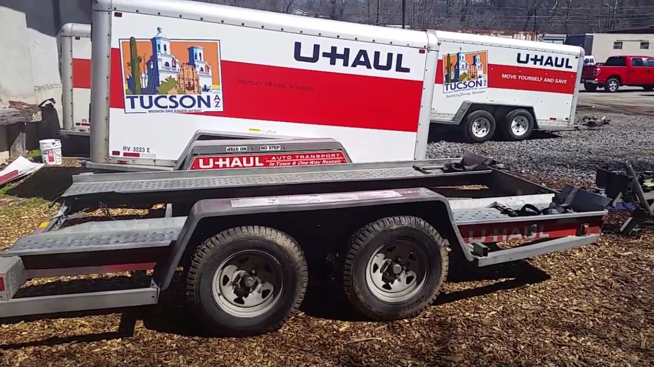 Need to tow your car behind your U-Haul truck? Rent a U-Haul