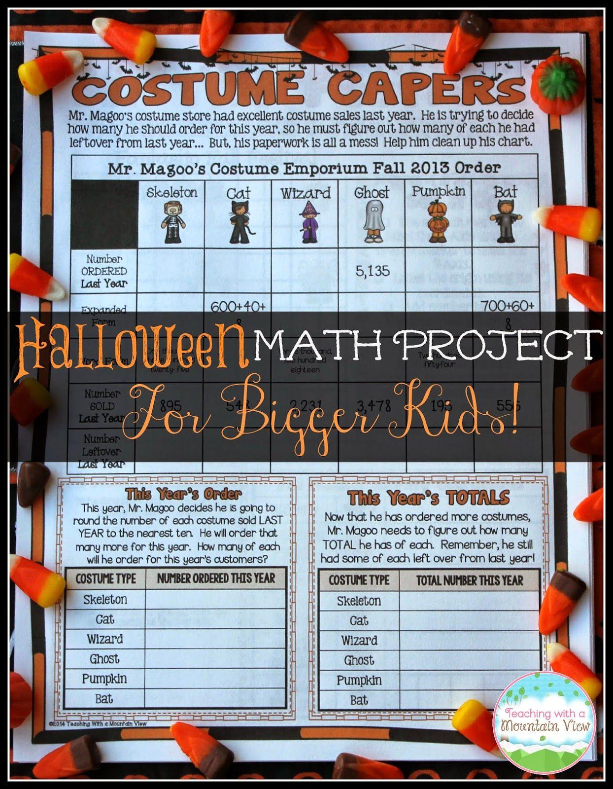 Educational Halloween Activities for the BIG KIDS! | Activities ...