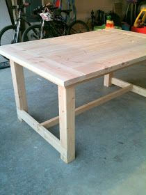 lovesome: make it: a farmhouse table