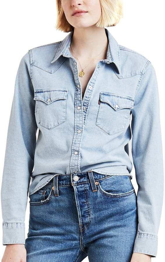 1cfc8d2bf0 Levi s Levis Women s Ultimate Western Denim Shirt