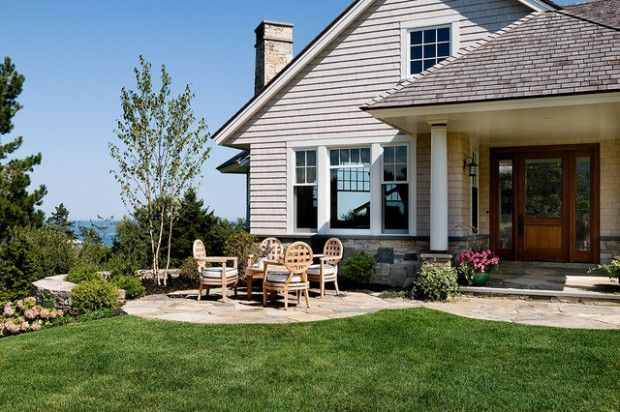 19 Amazing Small Front Yard Landscaping Ideas is part of Front yard patio, Patio stones, Patio design, Patio, Small front yard landscaping, Concrete patio - Small frond yards can look amazing like they are part of big gorgeous parks  If you have small front yard area and you are looking for some amazing ideas